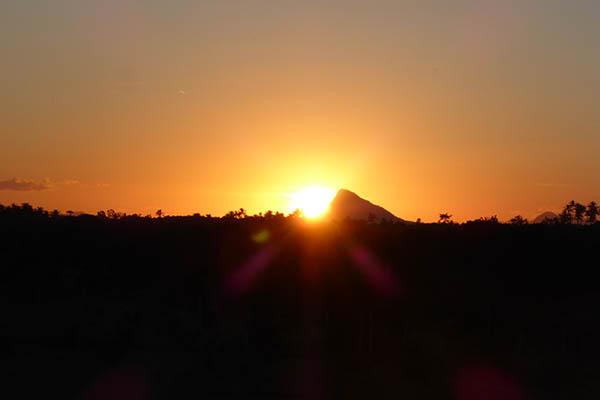 Brasilien Sonnenuntergang