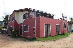 Brasilien Unterkunft Terrasse